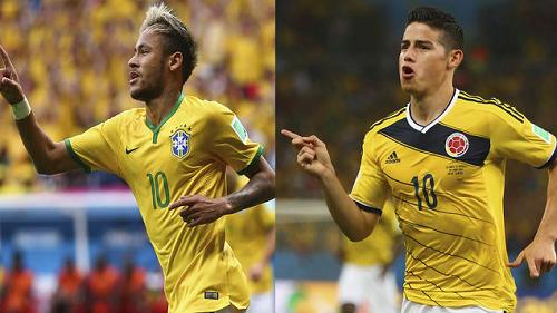 brasil colombia mundial 2014