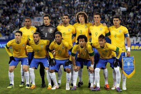 seleccion brasil 2013