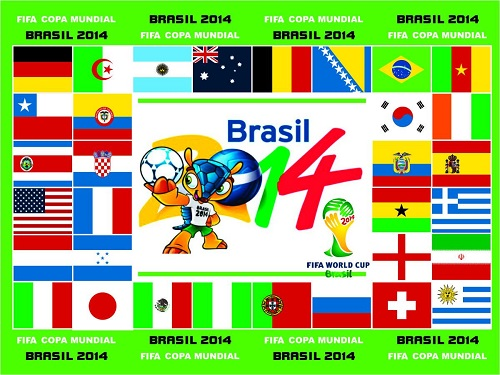 banderas mundial