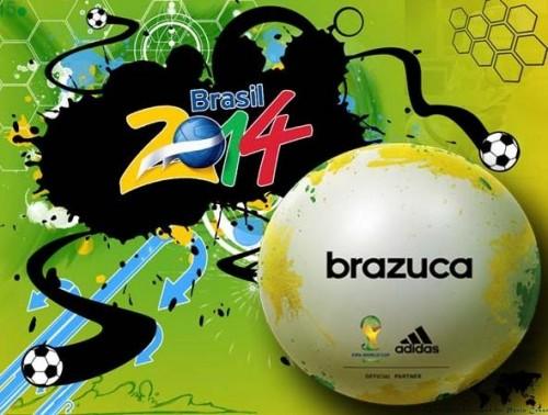 brazuca balon del mundial brasil 2014 de futbol de selecciones nacionales