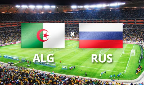 Argelia vs. Rusia