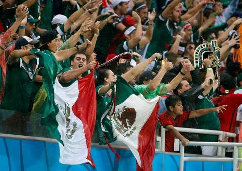 Soccer: World Cup-Mexico vs Cameroon