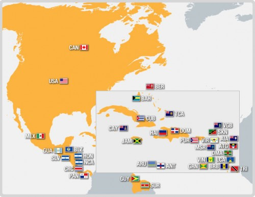 CONCACAF-MapaFutbol