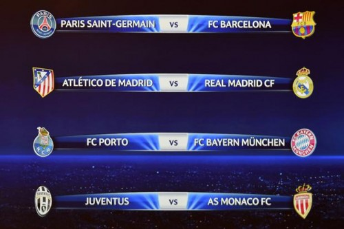Cruces cuartos de final champions league 2015 mundial for Cuartos final champions 2014