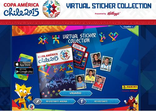 album virtual copa america 2015