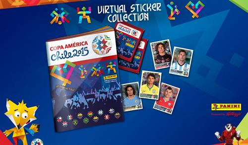 album virtual panini copa america 2015